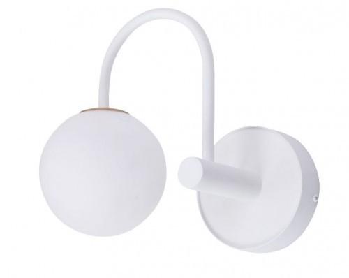 Sigma biały kinkiet klosz kula MANIA 33185 lampa ścienna z okrągłym kloszem do sypialni 33185