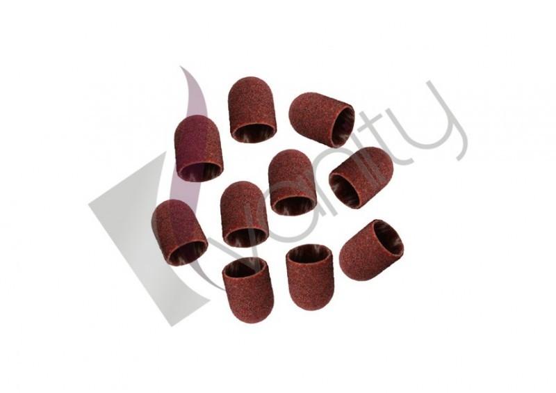 Vanity Kapturki ścierne do pedicure 13 mm - 10 sztuk KAPTURKI 10SZT