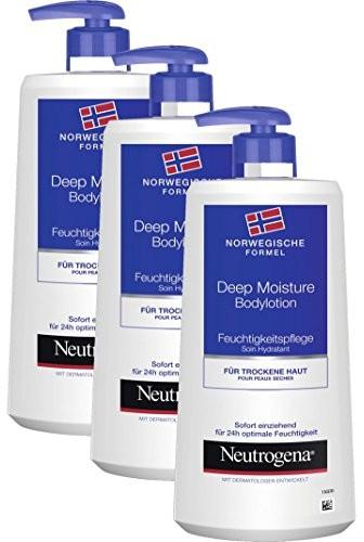 Neutrogena Formuła Norweska balsam do ciała głębokie nawilżenie / 3 x 400 ml 98567