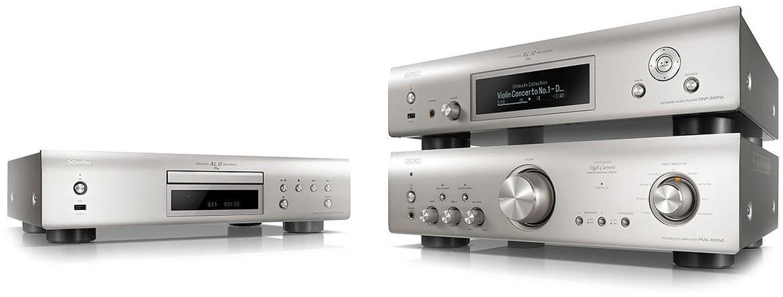Zestaw stereo: PMA-800NE + DCD-800NE + DNP-800NE