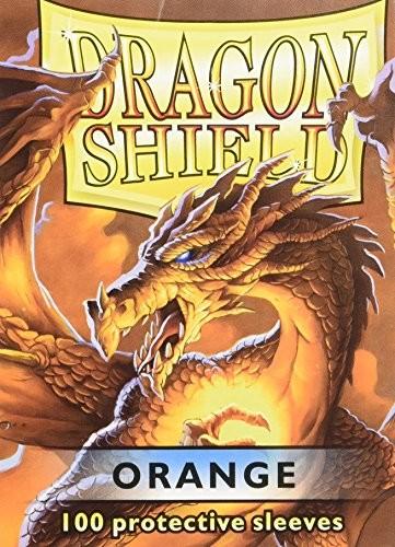 Arcane Tinmen 10013 Dragon Shield Standard Sleeves, 100 sztuk, pomarańczowy