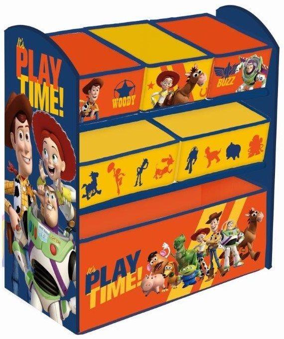 Global Global Toy Story Drewniany organizer na zabawki Komoda 8092-uniw