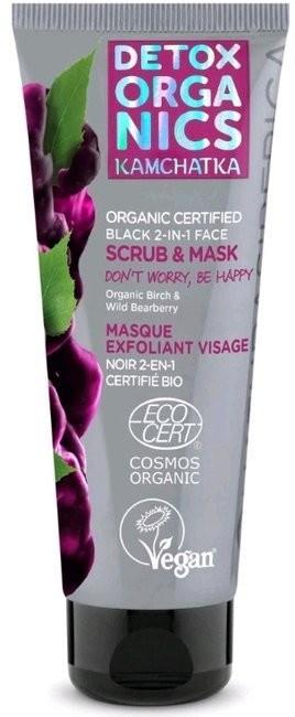 Detox Organics Detox Organics czarna maska&peeling 75ml 52933-uniw