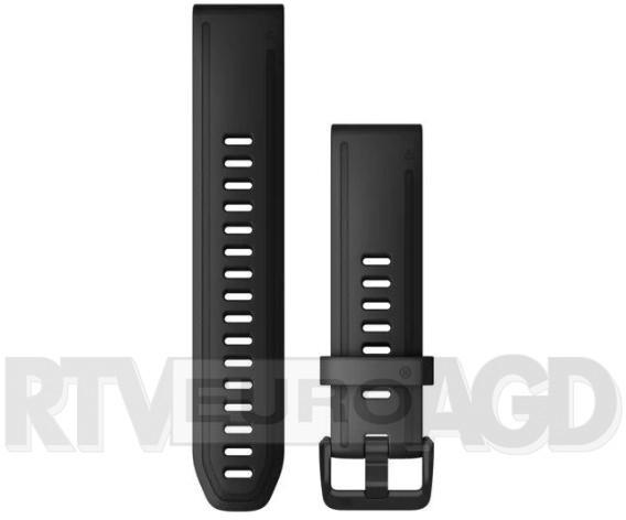 Garmin pasek Fenix 6S 20mm QuickFit czarny  