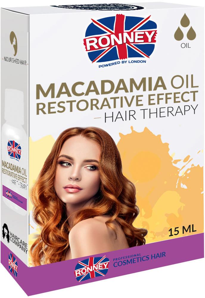 MACADAMIA Olejek do włosów Ronney 15ml wzmacniający