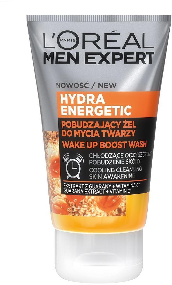 L'Oreal Paris L'Oreal Paris Men Expert Hydra Energetic energetyzujący żel do mycia twarzy 100ml