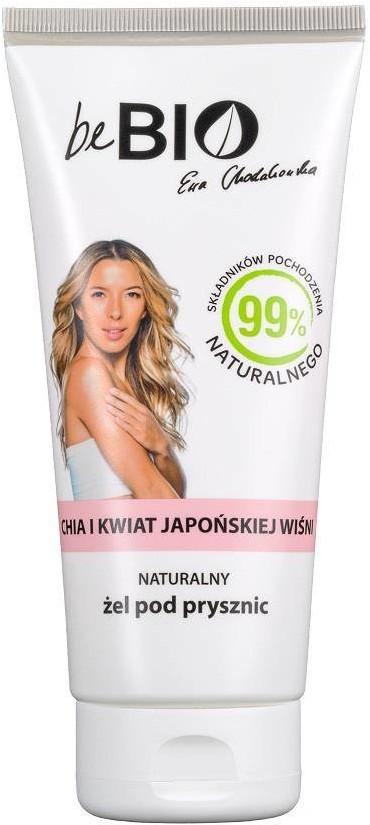 BeBio Ewa Chodakowska Naturalny żel pod prysznic Chia i Kwiat Japońskiej Wiśni 200ml 97060-uniw