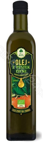 Dary Natury olej z pestek dyni tłoczony na zimno EKO 500 ml | DARMOWA DOSTAWA OD 149 PLN!