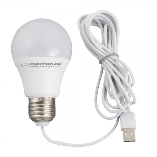 Esperanza Żarówka LED USB 5W - Esperanza ELL170 ESP-12332