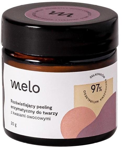 Melo Melo Oczyszczanie Peeling enzymatyczny 20g