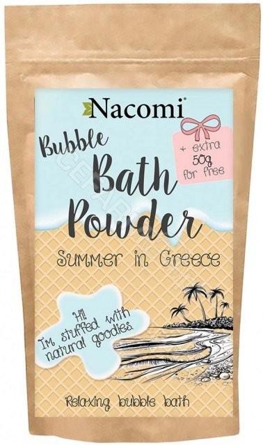 Nacomi Nacomi Puder do kąpieli Greckie lato 150g NACO-1883