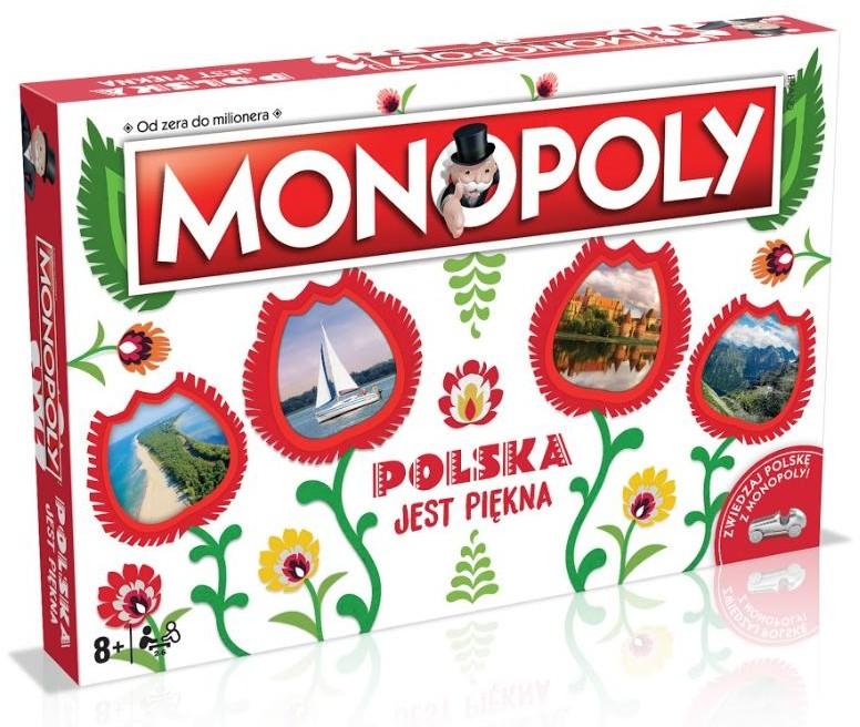 Winning Moves Monopoly: Polska jest Piękna