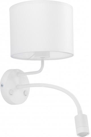 TK Lighting Kinkiet Mia 4116 nowoczesna oprawa w kolorze białym 4116