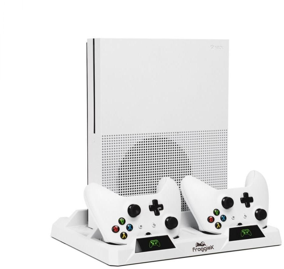 Froggiex Froggiex podstawka chłodząca z funkcją ładowania padów Xbox One Wysyłka tego samego dnia! Faktura VAT 23% Płatność PayPo