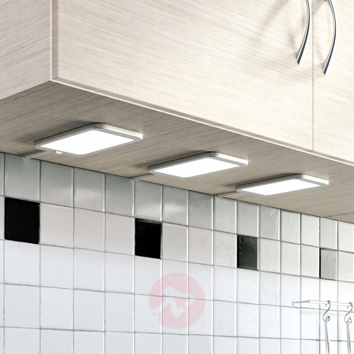 Lampenwelt com Oprawa podszafkowa LED Svela, 3 sztuki
