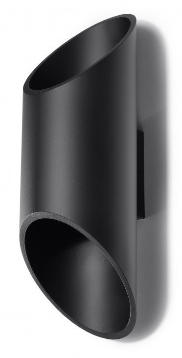 Sollux Lighting Penne 30 kinkiet 1-punktowy czarny SL.0114