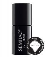 Semilac Semilac Sharm Effect Base White biała baza hybrydowa 7ml