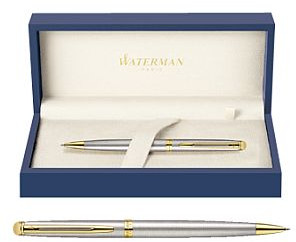 Waterman Długopis Hemisphere stalowy GT