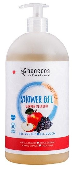 BENECOS Żel pod prysznic GARDEN PLEASURE z jabłkiem i winogronami 950ml