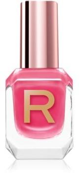 Makeup Revolution High Gloss dobrze kryjący lakier do paznokci z wysokim połyskiem odcień Coral 10ml