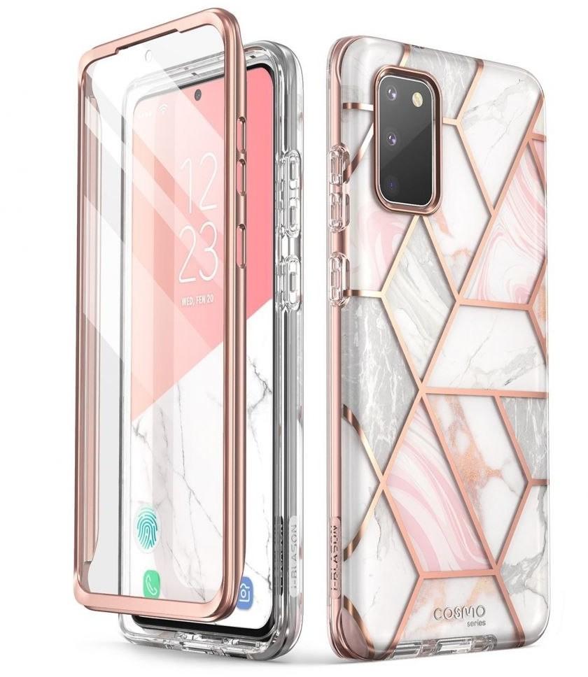 Supcase Etui Cosmo do Samsung Galaxy S20 FE Marble