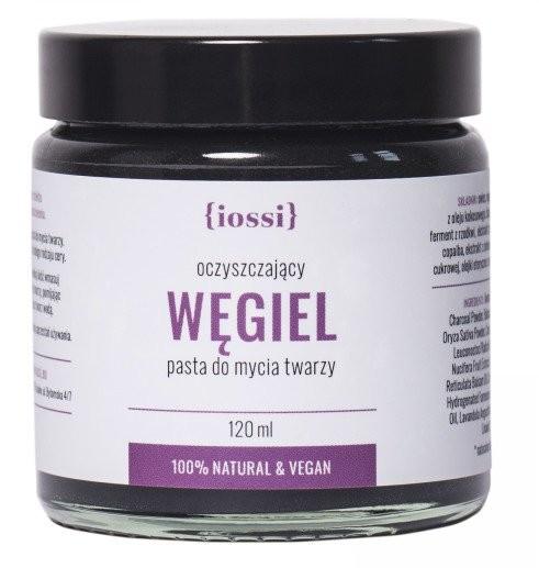 IOSSI Iossi Pasta do mycia twarzy Węgiel 120ml 37222-uniw