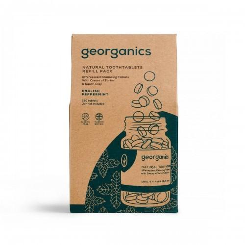 GEORGANICS Georganics, Naturalne tabletki do mycia zębów, Eng