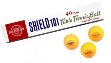 Shield Piłeczki do tenisa stołowego Pomarańczowy