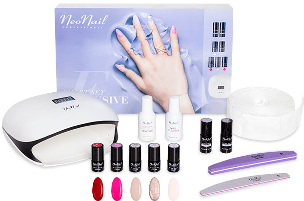 Neonail Smart Set Exclusive zestaw do hybrydy 6762