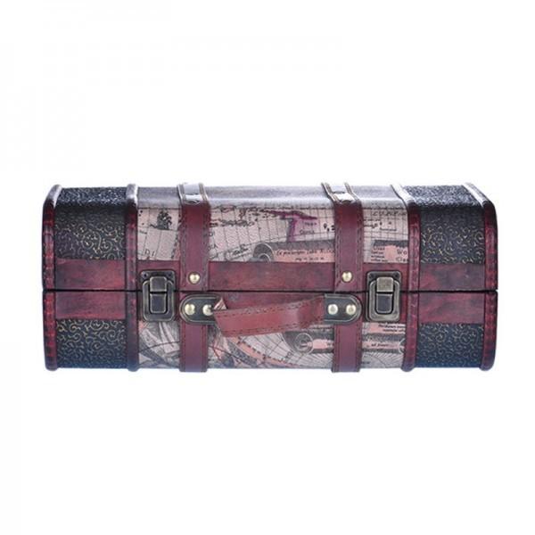 Dear Barber Vintage Wooden Suitcase S/S WALIZKA MAŁA