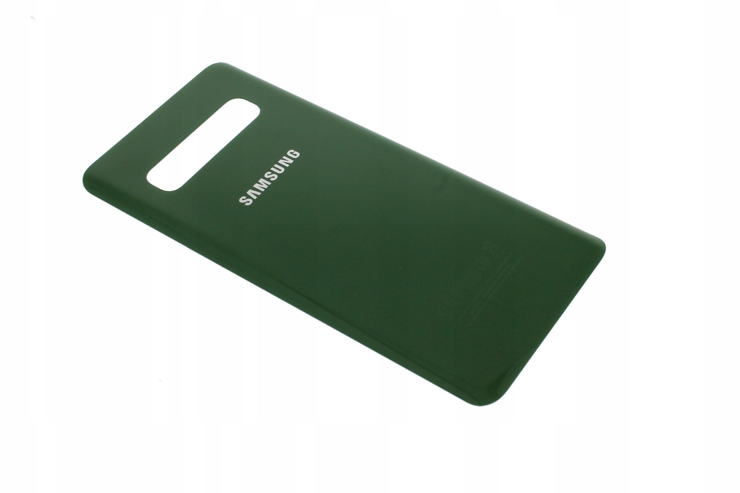 Samsung Obudowa Tył Klapka S10 G973 Zielony