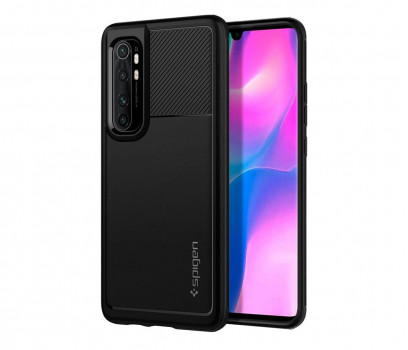 Spigen Rugged Armor do Xiaomi Mi Note 10 Lite czarny