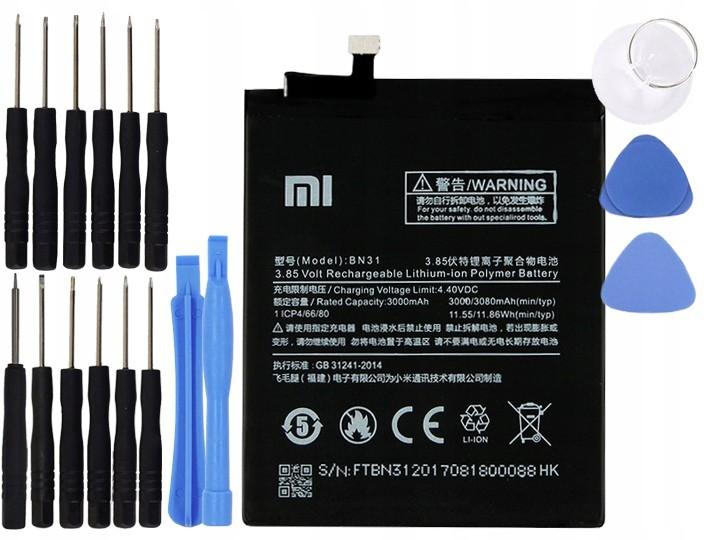 Xiaomi Bateria BN31 Redmi Note 5 5A 5X Oryginalna