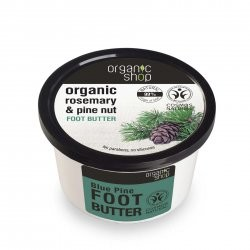 Organic Shop naturalne odświeżające masło do stóp Rozmaryn&Sosna 250ml