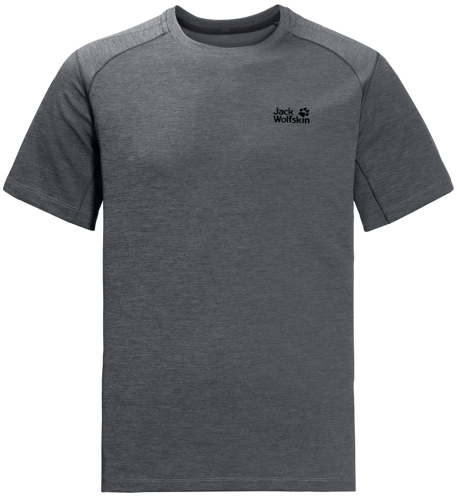 Jack Wolfskin Koszulka HYDROPORE XT MEN dark iron
