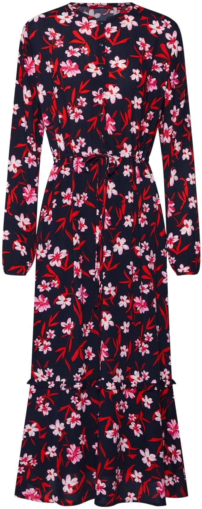 s.Oliver RED LABEL Sukienka koszulowa Granatowy / Mieszane Kolory