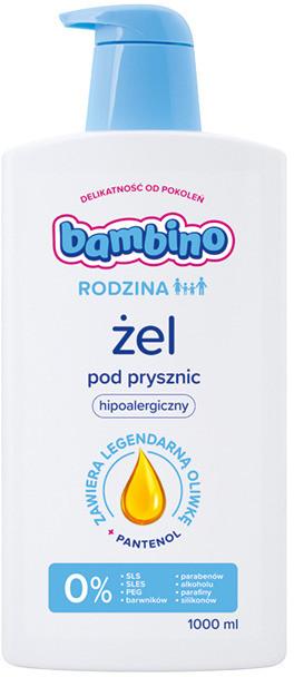 Bambino Rodzina Żel pod prysznic 1000 ml | SZYBKA WYSYŁKA!