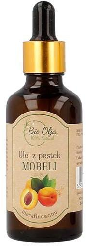 Bio BioOlja Olja Olej z Pestek Moreli Nierafinowany 50ml