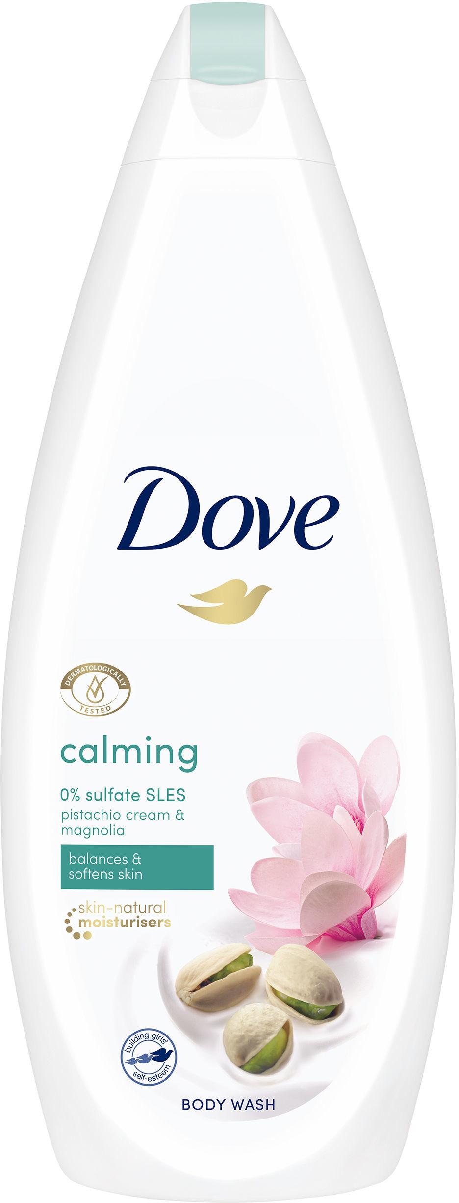 Dove Żel Pod Prysznic Calming Pistacja i magnolia 500 ml 8712561645690