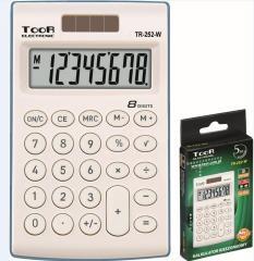 Grand  Kalkulator kieszonkowy 8-pozycyjny TR-252-W TOOR