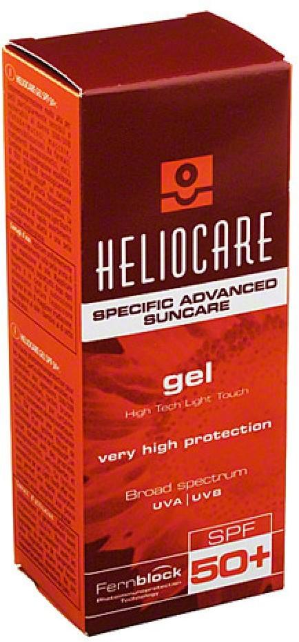 Heliocare IFC Dermatologie Deutschland G żel przeciwsłoneczny SPF 50+ 50 ml