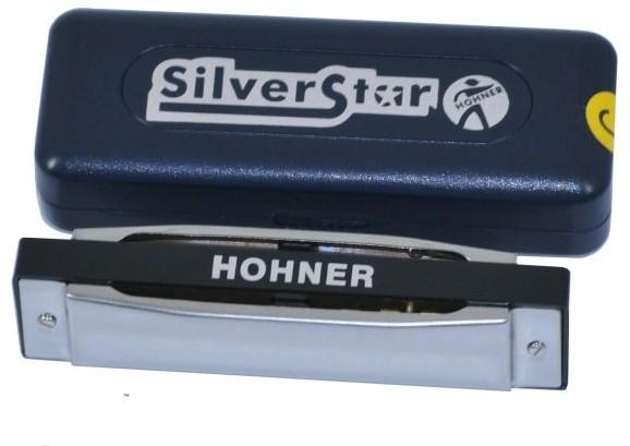 Hohner Silver Star Harmonijka ustna tonacja A
