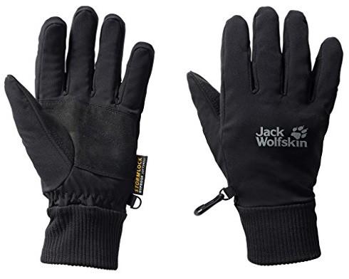 Jack Wolfskin rękawiczki Super Sonic Glove, czarny, m 1901121-6000