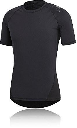 Adidas męski Alpha Skin Sport T-Shirt, czarny, s CF7235