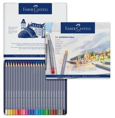 Faber Castell Kredki akwarelowe Goldfaber 24 kol. FABER CASTELL