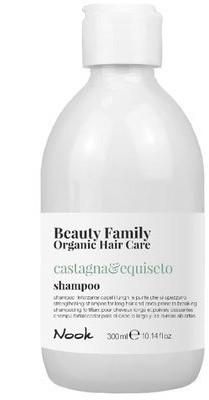 Organic Surge MAXIMA NOOK Nook Beauty Family Hair Care Basilico & mandorla Szampon 300ml