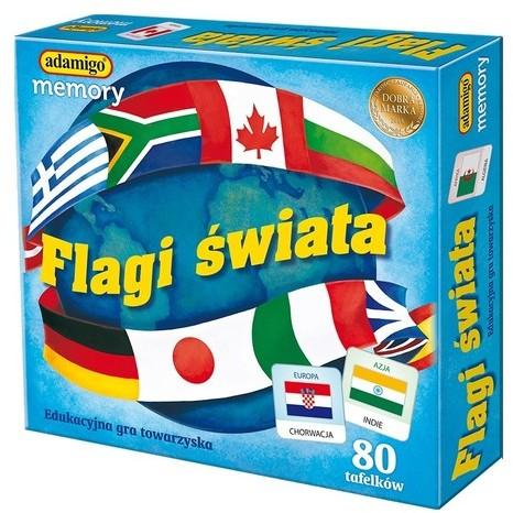 Adamigo Flagi świata memory
