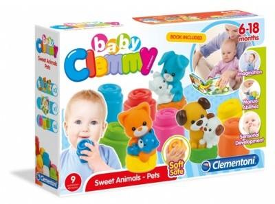 Clementoni Clemmy Baby Słodkie Zwierzaki