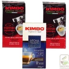 Kimbo Zes. 2 szt Napoletano 250g + Italiano GRATIS 2XKIM.NAPOL.1XITALIA