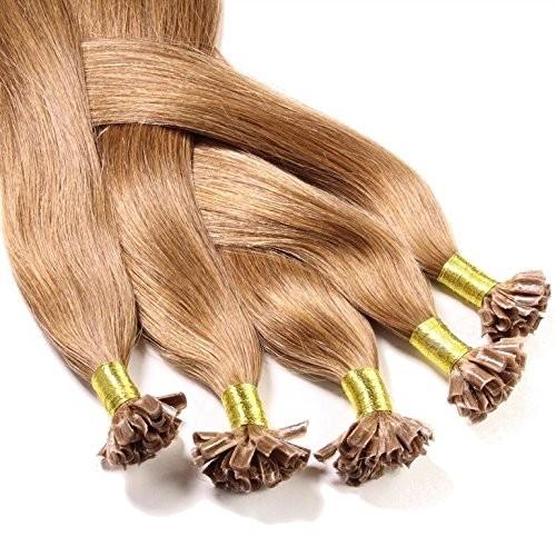 hair2heart 100X 1G przedłużenie włosów prawdziwe włosy dopinki-z włosami u-TIP Keratin-bondings, długość 50cm//zagęszczanie włosów/gładka strukturanajwyższa jakośćwiele kolorów bardzo dobra ja